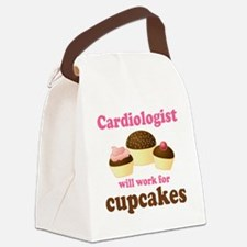 Cardiologist Funny Canvas Lunch Bag