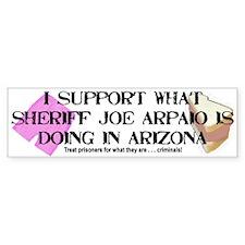 """Sheriff Joe Arpaio"" Bumper Bumper Sticker"