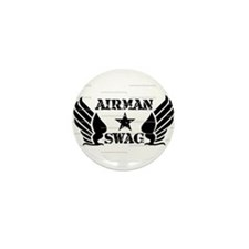 AMS Logo Mini Button