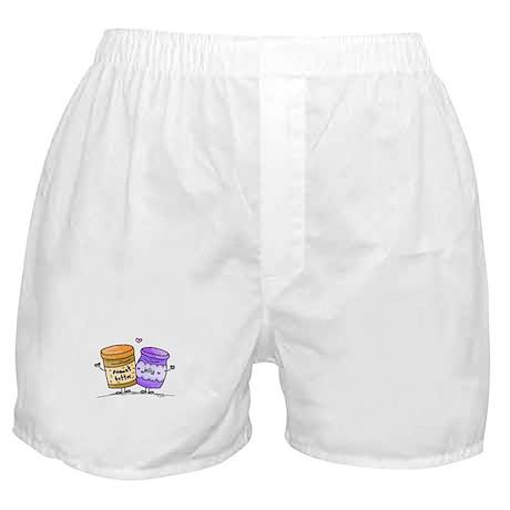pb loves grape jelly Boxer Shorts