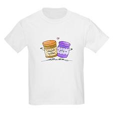 pb loves grape jelly Kids T-Shirt