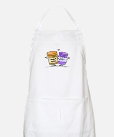 pb loves grape jelly BBQ Apron