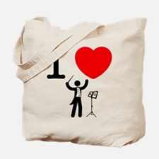 Music Conductor Tote Bag
