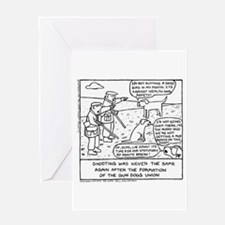 Gun Dog Revolt - Greeting Card