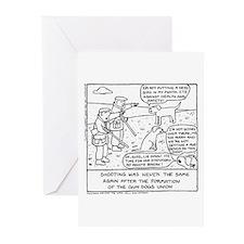 Gun Dog Revolt - Greeting Cards (Pk of 20)