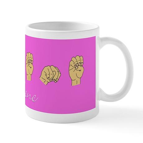 Arlene Name in ASL letters Mug