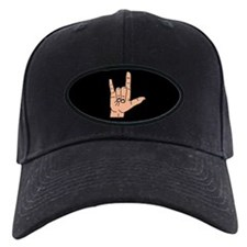 Sign Language I Love You Hand Baseball Hat