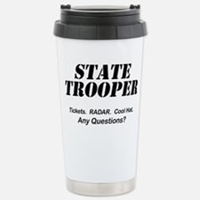 Cute State trooper Travel Mug