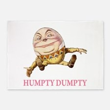 Humpty Dumpty 5'x7'Area Rug