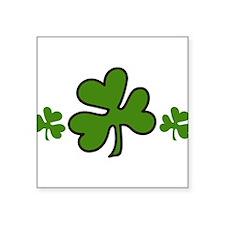 "Irish Square Sticker 3"" x 3"""