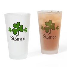 Slainte Drinking Glass