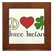 Unite Ireland Framed Tile