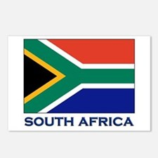 South Africa Flag Stuff Postcards (Package of 8)