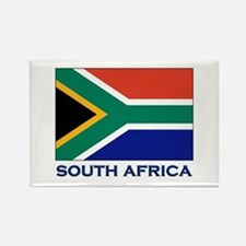 South Africa Flag Stuff Rectangle Magnet