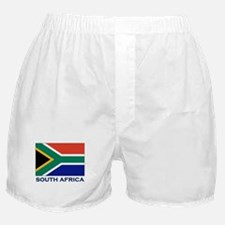 South Africa Flag Stuff Boxer Shorts