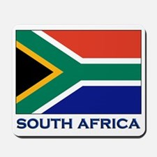South Africa Flag Stuff Mousepad
