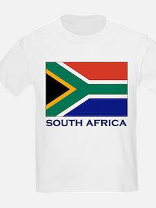South Africa Flag Stuff Kids T-Shirt