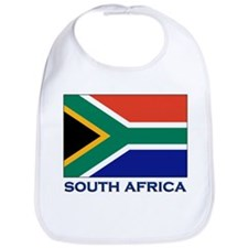 South Africa Flag Stuff Bib