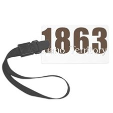 1863 Idaho Territory Luggage Tag