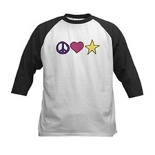 Peace Love And Party Tee