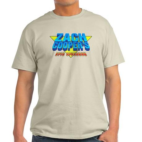 Zach Coopers Epic Speedrun Light T-Shirt