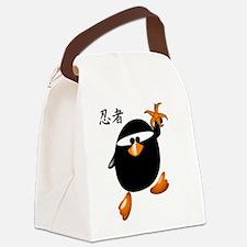 ninjapenguin4.png Canvas Lunch Bag