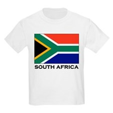 South Africa Flag Gear Kids T-Shirt
