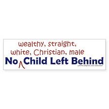 No Child? Bumper Bumper Sticker