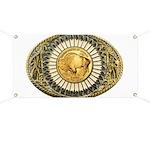 Buffalo gold oval 1 Banner