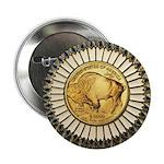 Buffalo gold oval 1 2.25