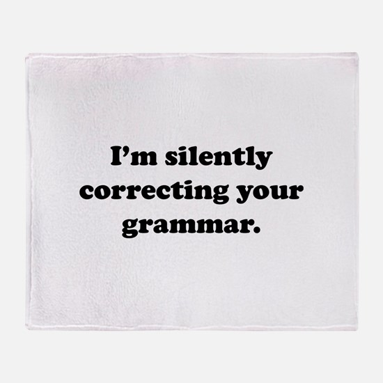 I'm Silently Correcting Your Grammar Stadium Blan