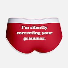 I'm Silently Correcting Your Grammar Women's Boy B