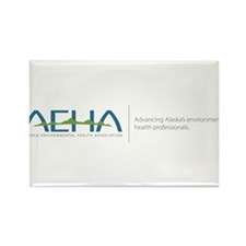 AEHA LOGO Phrase Rectangle Magnet (10 pack)