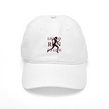Live to Run Baseball Cap