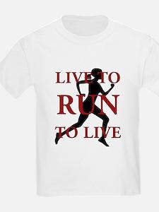 Live to Run T-Shirt