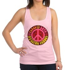 Peace, Love, Nursing School Racerback Tank Top