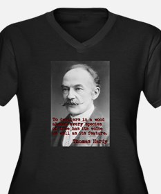 To Dwellers In A Wood - Thomas Hardy Women's Plus