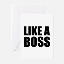 Like A Boss Greeting Cards (Pk of 20)