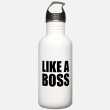 Like A Boss Sports Water Bottle