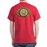 Buffalo gold oval 1 Dark T-Shirt