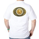 Buffalo gold oval 1 Golf Shirt