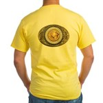 Buffalo gold oval 1 Yellow T-Shirt