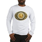 Buffalo gold oval 1 Long Sleeve T-Shirt