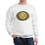 Buffalo gold oval 1 Sweatshirt