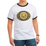 Buffalo gold oval 1 Ringer T