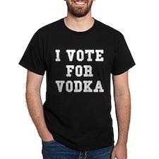 I Vote For Vodka T-Shirt