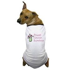 Breast Cancer Survivor Dog T-Shirt