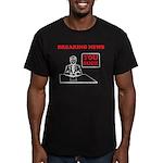 You Suck! Men's Fitted T-Shirt (dark)