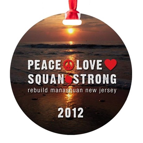 Litm! SquanStrong Christmas Round Ornament