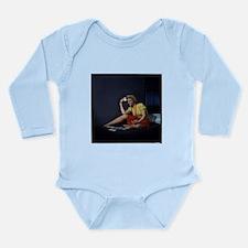 solitaire Long Sleeve Infant Bodysuit